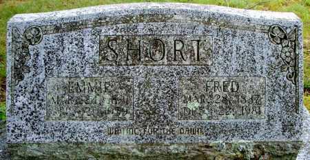 SHORT, FRED - Faulkner County, Arkansas   FRED SHORT - Arkansas Gravestone Photos