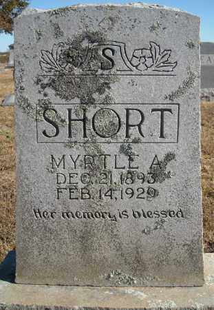 SHORT, MYRTLE ANNIE - Faulkner County, Arkansas | MYRTLE ANNIE SHORT - Arkansas Gravestone Photos