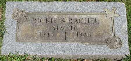 SIMON, RICKIE - Faulkner County, Arkansas | RICKIE SIMON - Arkansas Gravestone Photos