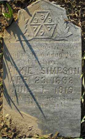 SIMPSON, LARKIE - Faulkner County, Arkansas | LARKIE SIMPSON - Arkansas Gravestone Photos