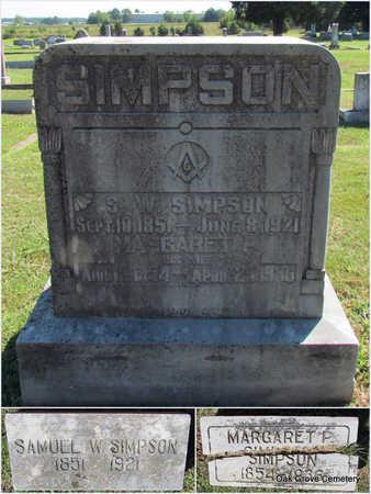 SIMPSON, MARGARET P. - Faulkner County, Arkansas | MARGARET P. SIMPSON - Arkansas Gravestone Photos