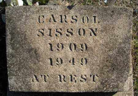 SISSON, CARSOL - Faulkner County, Arkansas | CARSOL SISSON - Arkansas Gravestone Photos