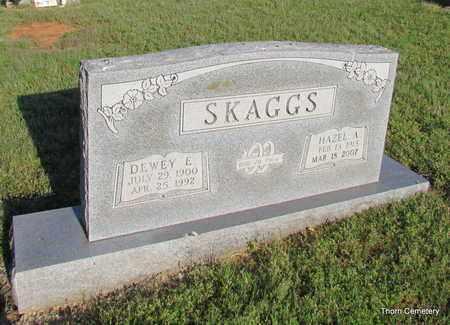 SKAGGS, DEWEY E. - Faulkner County, Arkansas   DEWEY E. SKAGGS - Arkansas Gravestone Photos