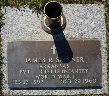 SKINNER (VETERAN WWI), JAMES R - Faulkner County, Arkansas | JAMES R SKINNER (VETERAN WWI) - Arkansas Gravestone Photos