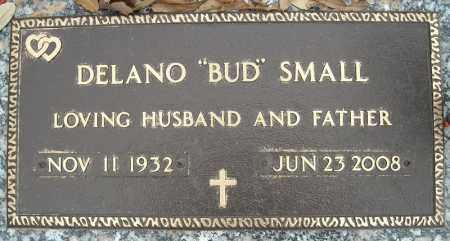 "SMALL, DELANO ""BUD"" - Faulkner County, Arkansas | DELANO ""BUD"" SMALL - Arkansas Gravestone Photos"