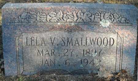 SMALLWAOOD, LELA V - Faulkner County, Arkansas | LELA V SMALLWAOOD - Arkansas Gravestone Photos