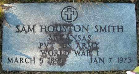 SMITH  (VETERAN  WWI), SAM HOUSTON - Faulkner County, Arkansas | SAM HOUSTON SMITH  (VETERAN  WWI) - Arkansas Gravestone Photos