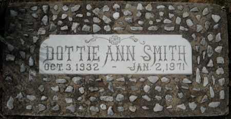 SMITH, DOTTIE ANN - Faulkner County, Arkansas   DOTTIE ANN SMITH - Arkansas Gravestone Photos