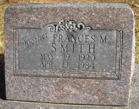 SMITH, FRANCES M. - Faulkner County, Arkansas   FRANCES M. SMITH - Arkansas Gravestone Photos