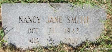 SMITH, NANCY JANE - Faulkner County, Arkansas | NANCY JANE SMITH - Arkansas Gravestone Photos