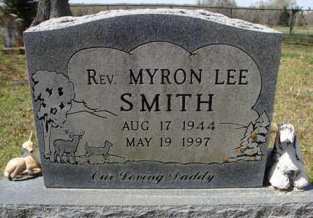 SMITH, REV., MYRON LEE - Faulkner County, Arkansas | MYRON LEE SMITH, REV. - Arkansas Gravestone Photos
