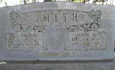 SMITH, JOHN N - Faulkner County, Arkansas | JOHN N SMITH - Arkansas Gravestone Photos