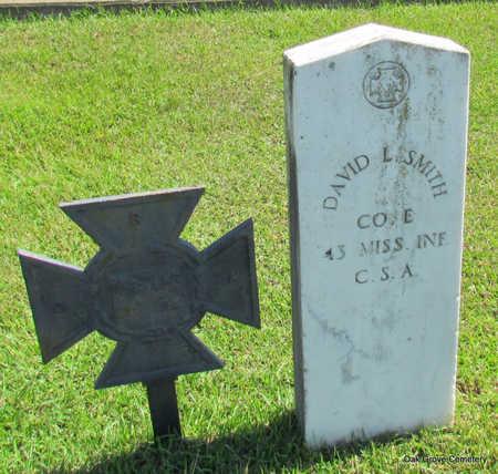 SMITH (VETERAN CSA), DAVID LOFTON - Faulkner County, Arkansas | DAVID LOFTON SMITH (VETERAN CSA) - Arkansas Gravestone Photos