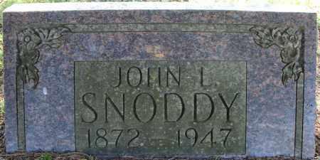 SNODDY, JOHN L. - Faulkner County, Arkansas | JOHN L. SNODDY - Arkansas Gravestone Photos