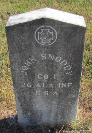 SNODDY (VETERAN CSA), JOHN - Faulkner County, Arkansas   JOHN SNODDY (VETERAN CSA) - Arkansas Gravestone Photos