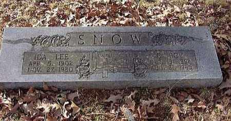 SNOW, C. ROY - Faulkner County, Arkansas | C. ROY SNOW - Arkansas Gravestone Photos