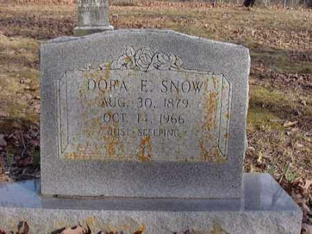 SNOW, DORA E. - Faulkner County, Arkansas | DORA E. SNOW - Arkansas Gravestone Photos