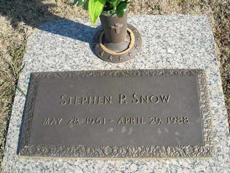 SNOW, STEPHEN P. - Faulkner County, Arkansas | STEPHEN P. SNOW - Arkansas Gravestone Photos