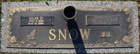 SNOW, MARY T. - Faulkner County, Arkansas | MARY T. SNOW - Arkansas Gravestone Photos