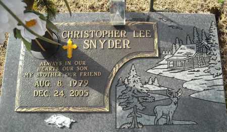 SNYDER, CHRISTOPHER LEE - Faulkner County, Arkansas | CHRISTOPHER LEE SNYDER - Arkansas Gravestone Photos