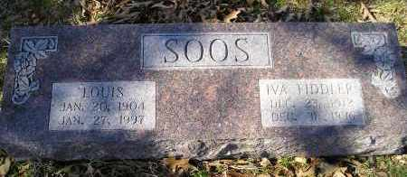 SOOS, IVA - Faulkner County, Arkansas | IVA SOOS - Arkansas Gravestone Photos