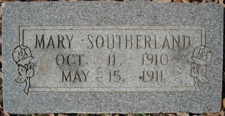SOUTHERLAND, MARY - Faulkner County, Arkansas | MARY SOUTHERLAND - Arkansas Gravestone Photos