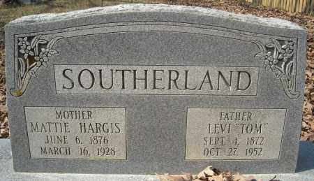 HARGIS SOUTHERLAND, MATTIE - Faulkner County, Arkansas | MATTIE HARGIS SOUTHERLAND - Arkansas Gravestone Photos