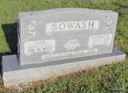 SOWASH, CECIL - Faulkner County, Arkansas | CECIL SOWASH - Arkansas Gravestone Photos