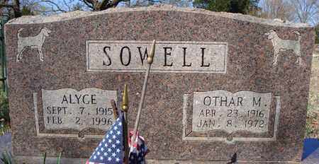 SOWELL, ALYCE - Faulkner County, Arkansas | ALYCE SOWELL - Arkansas Gravestone Photos