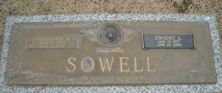 SOWELL, DOROTHY V. - Faulkner County, Arkansas | DOROTHY V. SOWELL - Arkansas Gravestone Photos
