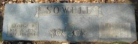 SOWELL, GEORGE R. - Faulkner County, Arkansas | GEORGE R. SOWELL - Arkansas Gravestone Photos