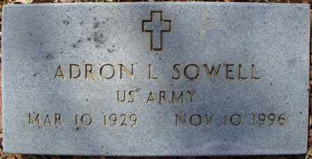 SOWELL (VETERAN), ADRON L - Faulkner County, Arkansas | ADRON L SOWELL (VETERAN) - Arkansas Gravestone Photos