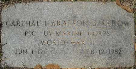 SPARROW (VETERAN WWII), CARTHAL HARALSON - Faulkner County, Arkansas | CARTHAL HARALSON SPARROW (VETERAN WWII) - Arkansas Gravestone Photos