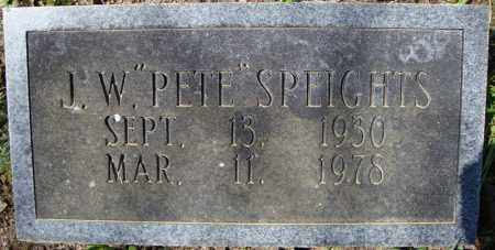 "SPEIGHTS, J.W. ""PETE"" - Faulkner County, Arkansas   J.W. ""PETE"" SPEIGHTS - Arkansas Gravestone Photos"