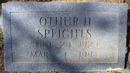 SPEIGHTS, OTHUR H. - Faulkner County, Arkansas | OTHUR H. SPEIGHTS - Arkansas Gravestone Photos