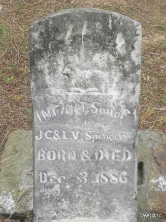SPENCER, INFANT SON - Faulkner County, Arkansas   INFANT SON SPENCER - Arkansas Gravestone Photos