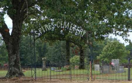 *SPIRES ENTRANCE GATE,  - Faulkner County, Arkansas |  *SPIRES ENTRANCE GATE - Arkansas Gravestone Photos