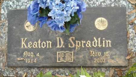 SPRADLIN, KEATON D. - Faulkner County, Arkansas   KEATON D. SPRADLIN - Arkansas Gravestone Photos