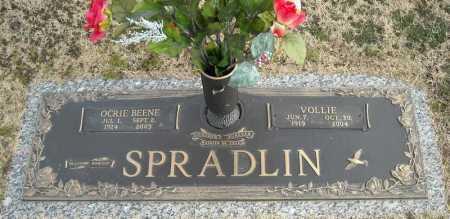SPRADLIN, OCRIE - Faulkner County, Arkansas | OCRIE SPRADLIN - Arkansas Gravestone Photos