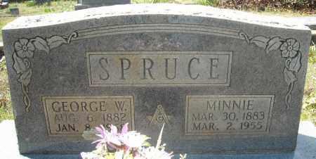 SPRUCE, MINNIE - Faulkner County, Arkansas | MINNIE SPRUCE - Arkansas Gravestone Photos