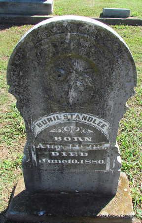 STANDLEE, BURIL - Faulkner County, Arkansas   BURIL STANDLEE - Arkansas Gravestone Photos