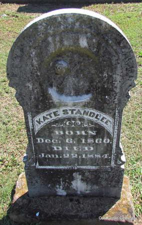 STANDLEE, KATE - Faulkner County, Arkansas | KATE STANDLEE - Arkansas Gravestone Photos