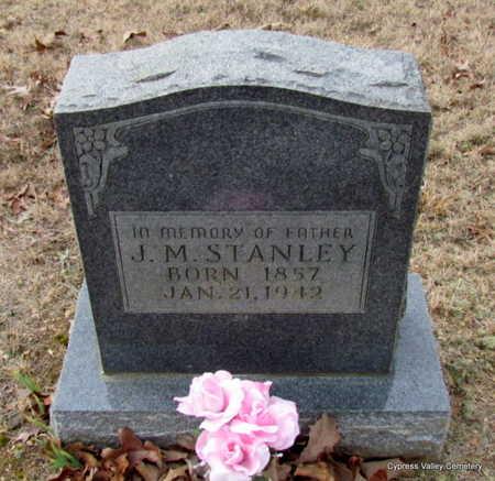 STANLEY, JAMES M. - Faulkner County, Arkansas   JAMES M. STANLEY - Arkansas Gravestone Photos