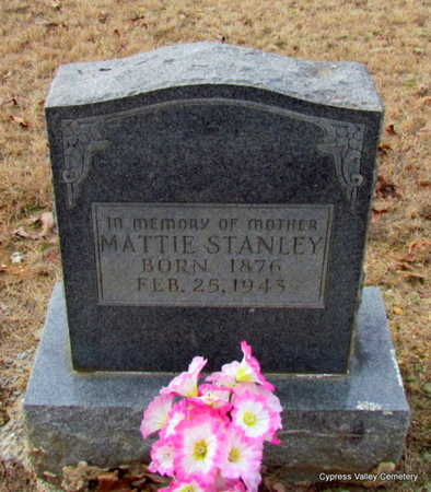 STANLEY, MATTIE - Faulkner County, Arkansas | MATTIE STANLEY - Arkansas Gravestone Photos