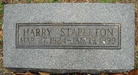 STAPLETON, HARRY - Faulkner County, Arkansas | HARRY STAPLETON - Arkansas Gravestone Photos