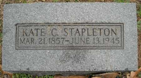 STAPLETON, KATE C. - Faulkner County, Arkansas | KATE C. STAPLETON - Arkansas Gravestone Photos