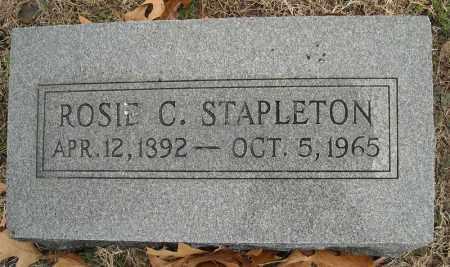 STAPLETON, ROSIE C. - Faulkner County, Arkansas | ROSIE C. STAPLETON - Arkansas Gravestone Photos
