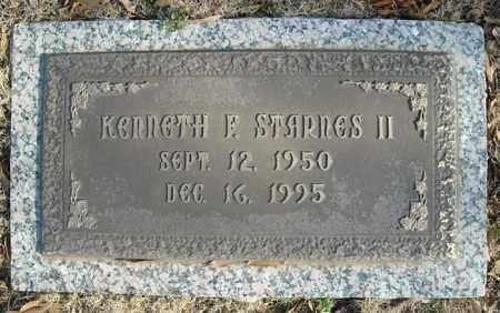 STARNES, II, KENNETH F. - Faulkner County, Arkansas   KENNETH F. STARNES, II - Arkansas Gravestone Photos