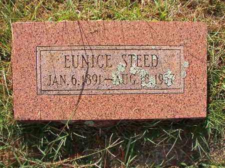 STEED, EUNICE - Faulkner County, Arkansas   EUNICE STEED - Arkansas Gravestone Photos