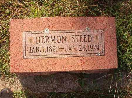 STEED, HERMON - Faulkner County, Arkansas | HERMON STEED - Arkansas Gravestone Photos